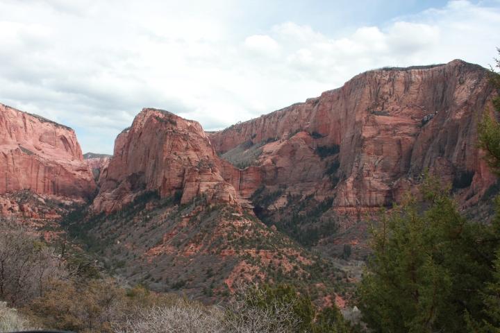 Utah: Kolob Canyon. Zion NationalPark