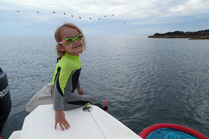 Gear Review! Snorkel with a toddler