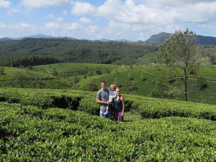 Family at Tea Plantation